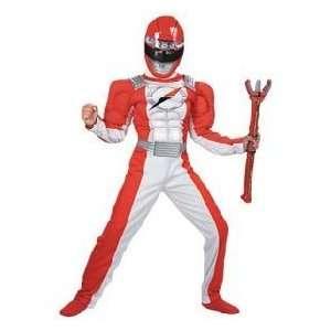 Power Ranger Operation Ranger Red Child Deluxe Costume Toys & Games