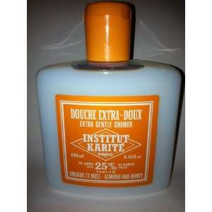 Karite Paris Extra Gentle Shower 25% Shea Butter 8.45 oz Almond Honey