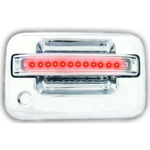 LED and Clear Lens Front Door Handle with Both Sides Key Hole   Pair