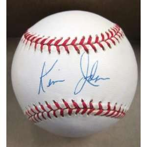 Signed Ball   N l W coa   Autographed Baseballs Sports Collectibles