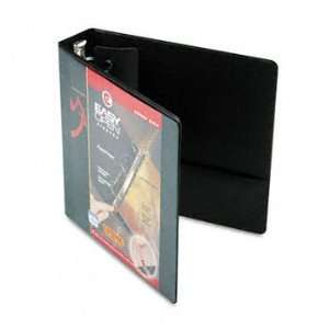 ClearVue Locking Round Ring Binder, 2 Capacity, Black: Camera & Photo