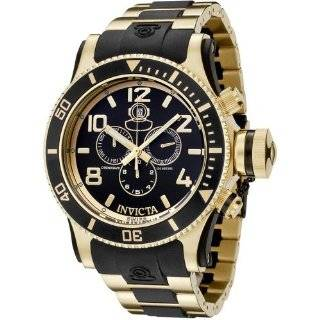 gold plated black rubber watch invicta average customer review 1 in