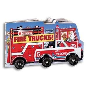 Tonka Fire Trucks (big Board Book W/ Wheels