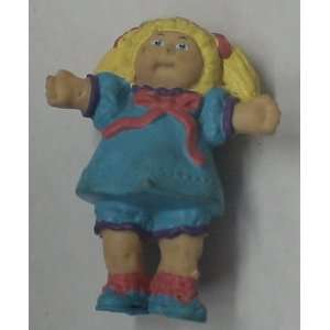 Vintage PVC Figure Cabbage Patch Kids /Blue Dress