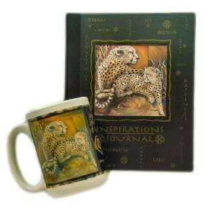 African CHEETAH big cat gift set by jody Bergsma Featuring