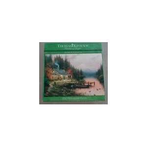 Thomas Kinkade The End of a Perfect Day (1000 Piece Jigsaw Puzzle