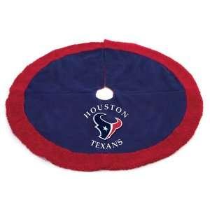 48 NFL Houston Texans Logo Christmas Tree Skirt