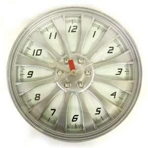 Racing Series 13 Wheel Rim Wall Clock