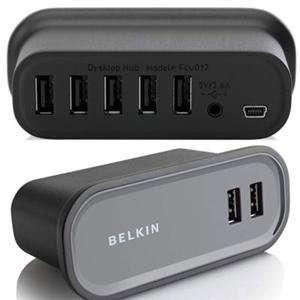 PORT DESKTOP USB HUB * W/PS (USB Hubs & Converters)