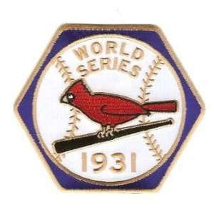 Louis Cardinals World Series MLB Baseball Patch Cooperstown Collection