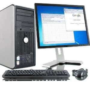 Dell Optiplex 745 Core 2 Duo 1 86Ghz 2GB 400GB DVD RW 17