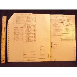 Electrical Wiring Diagrams Manual ~Original Ford Motor Company Books