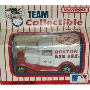 Boston Red Sox 1990 Matchbox MLB Diecast 164 Scale Ford Model A