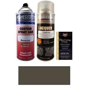 . Deep Gray (matt) Spray Can Paint Kit for 2009 Dodge Ram Truck (ZSP
