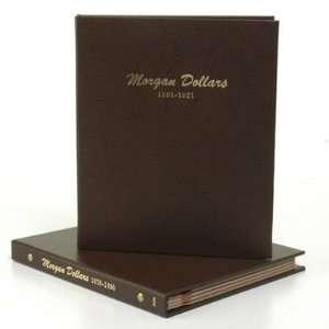 Fifteen Date or Mint Mark Morgan Dollars w/ Two Dansco Albums:
