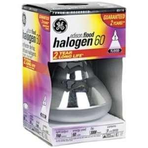 GE Edison Base 60 Watt BR30 Halogen Flood Light Bulb