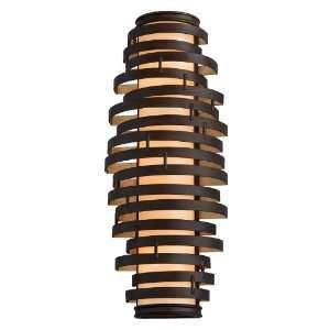 Vertigo Collection 3 Light 24 Bronze with Gold Leaf Energy Star Wall