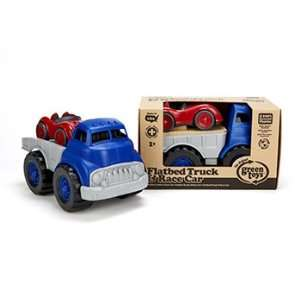 Quality value Green Toys Flatbed W/ Red Race Car By Green