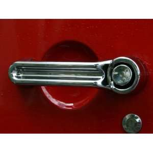 Jeep Wrangler 4 Door Chrome Door Handle Kit Automotive