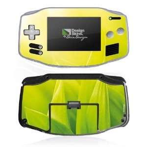 Design Skins for Nintendo Game Boy Advance   Green Leave