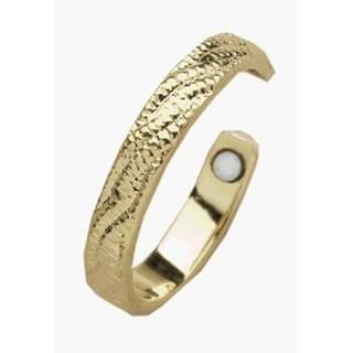 Magnetic Toe Ring, 24k Gold Plated   1 ring