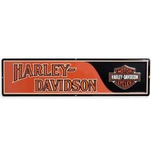 Harley Davidson® Transportation Tin Sign. Embossed. 99351