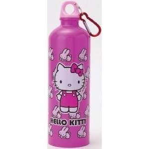 Hello Kitty Stainless Steel Water Bottle Pink Rabbit