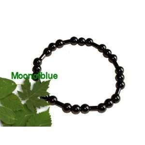 Round / Tube Hematite Beads stretch Bracelet Everything