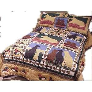The Hunt Twin Quilt Electronics