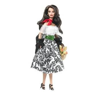 Dolls of the World Spain Barbie Doll  Toys & Games