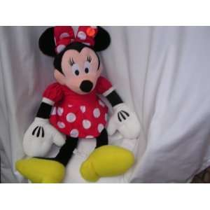 Minnie Mouse Plush Toy Doll JUMBO 32 Collectible