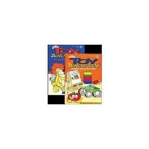 KAPPA Toy Adventures Coloring & Activity Book Toys