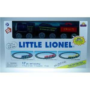 Little Lionel My First Train Steam Locomotive 17 Piece Train Set with