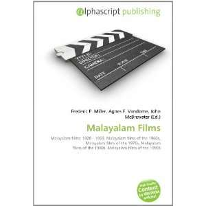 Malayalam Films (9786134050968) Books