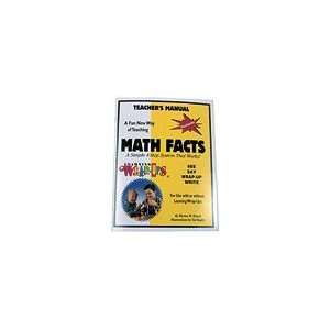 Math Facts Teaching Manual Toys & Games