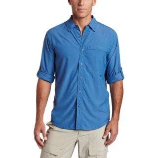 Exofficio Tripr Check Long sleeved Mens Button front Shirt Clothing