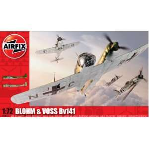 and Voss Bv141 Military Aircraft Classic Kit Series 3 Toys & Games