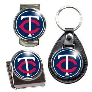 MLB Minnesota Twins Key Chain, Money Clip and Magnet Clip