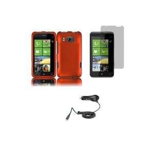 HTC One S (T Mobile) Premium Combo Pack   Orange Hard