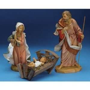 12 Holy Family Nativity Set