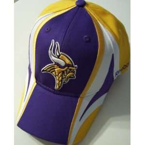 Minnesota Vikings NFL Reebok Multi Team Color Hat:  Sports