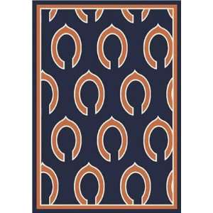 5ft4in x 7ft8in   N/A NFL Football Team Logo Rugs by
