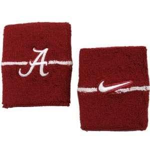 Nike Alabama Crimson Tide Crimson Game On Wristband