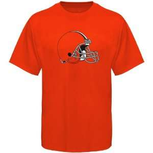 Reebok Cleveland Browns Logo Premier T Shirt   Orange