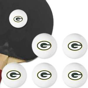 Green Bay Packers Table Tennis Balls