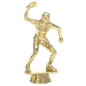 Female Table Tennis Trophy Ping Pong Figure Trophy
