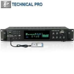 1500W Hybrid Amplifier W/ Am/Fm Tuner By TECHNICAL PRO®: Electronics