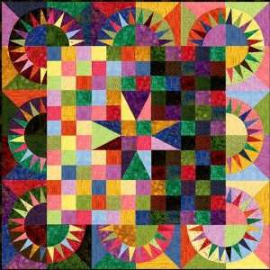 Rock n Roll Quilt Kit By The Each Arts, Crafts & Sewing