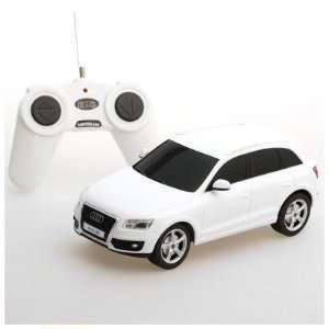 124 Scale Audi Q5 White Radio Remote Control Car Toys & Games
