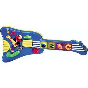 Sesame Street Elmos Rock & Roll Guitar Toys & Games
